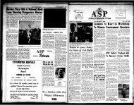 Albany Student Press 1964-11-20 - University at Albany Libraries
