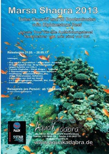 Marsa Shagra 2013 - Aquakadabra