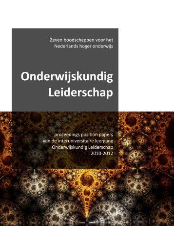 Onderwijskundig Leiderschap - DSpace at Open Universiteit