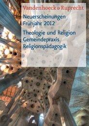 Neuerscheinungen Frühjahr 2012 Theologie und Religion ...