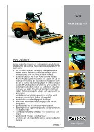 Park Diesel HST PARK - Stiga!