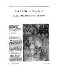How Old is the Shepherd? - Harvard University