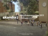 Ungdomsrapporten 2013 - delrapport 1 - Cision