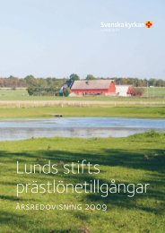 Lunds stifts prästlönetillgångar - Cision