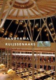 panorama ruijssenaars - O - Universiteit Leiden