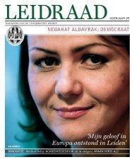 Leidraad voorjaar 2009 - O - Universiteit Leiden
