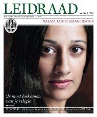'Je moet loskomen van je religie' - O - Universiteit Leiden