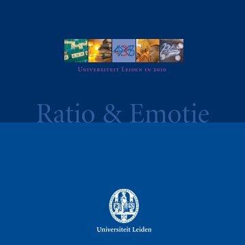 Ratio & Emotie - Universiteit Leiden