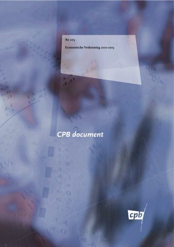 Verkenning van het CPB - RTL.nl