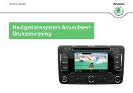 Navigationssystem Amundsen+ Bruksanvisning - Media Portal ...