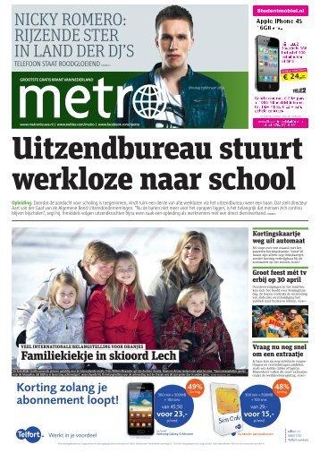 korting - Metro