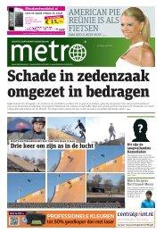 Schade in zedenzaak omgezet in bedragen - Metro