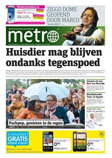 Huisdier mag blijven ondanks tegenspoed - Metro