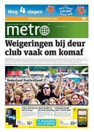 Weigeringen bij deur club vaak om komaf - Metro