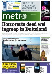 Horrorarts deed wel ingreep in Duitsland - Metro