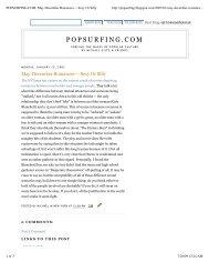 POPSURFING.COM_ May-December Romances ... - Michael Giltz