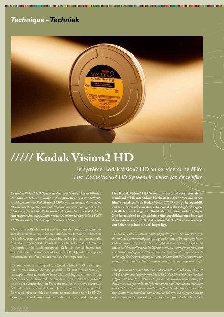 Technique - Techniek - Kodak