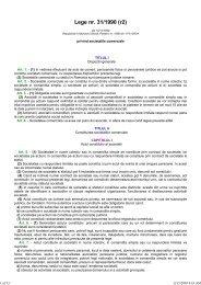 Lege nr. 31/1990 (r2)