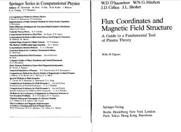 Flux Coordinates and Magnetic Field Structure - University of ...