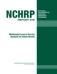 NCHRP Report 616 - Transportation Research Board