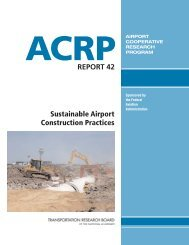 Sustainable Airport Construction Practices - Transportation ...