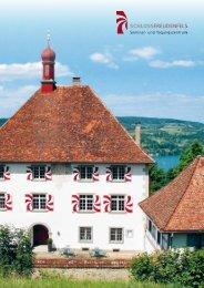 Broschüre Schloss Freudenfels