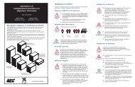 Symmetra LX Veiligheidsvoorschriften en algemene ... - Icecat.biz