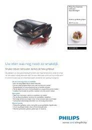 HD4409/90 Philips Gezondheidsgrill - Icecat.biz