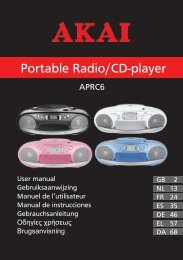 Portable Radio/CD-player - Icecat.biz