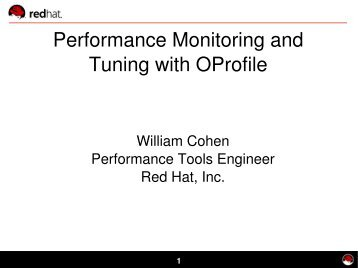 Dynamic Tracing and Profiling - Red Hat People