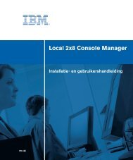 Local 2x8 Console Manager - Ibm