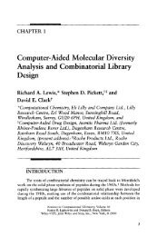 Computer-Aided Molecular Diversity Analysis and ... - Read