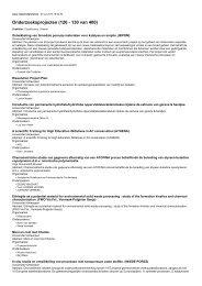 Onderzoeksprojecten (120 - 130 van 400)