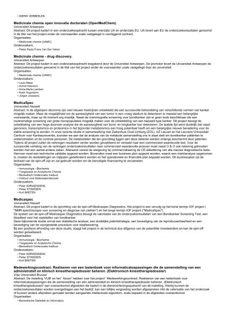 Onderzoeksprojecten (4220 - 4240 van 9127)
