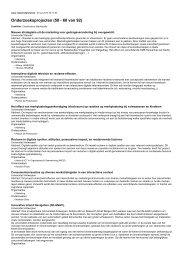 Onderzoeksprojecten (50 - 60 van 92)