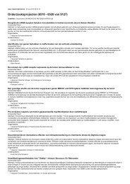 Onderzoeksprojecten (6510 - 6520 van 9127)