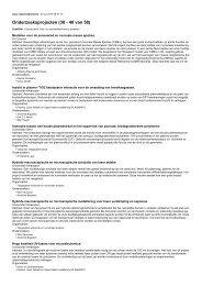 Onderzoeksprojecten (30 - 40 van 58)