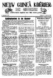 Nieuw Guinea koerier : de groene : onafhankelijk dagblad voor Ned ...