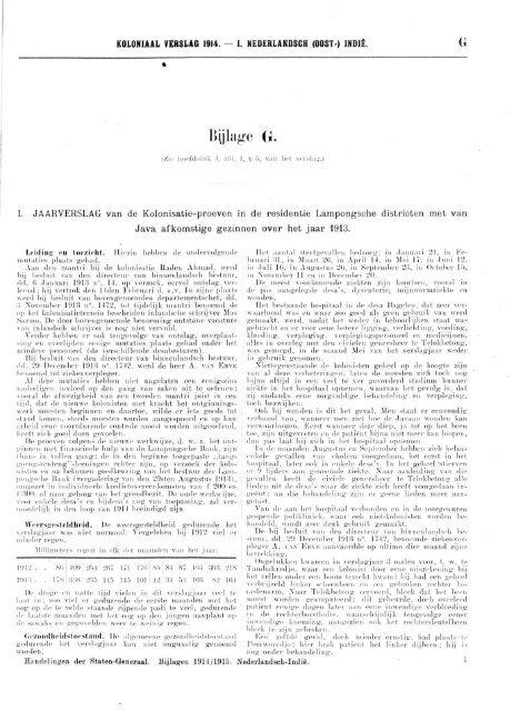 Koloniaal Verslag van 1914