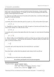 1 Formeln umstellen