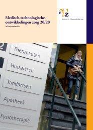 Medisch-technologische ontwikkelingen zorg 20/20 - RVZ - Raad ...