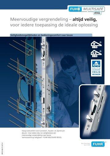 Meervoudige vergrendeling - Carl Fuhr GmbH & Co. KG