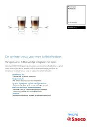 HD7018/00 Philips Koffieglazen
