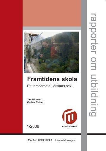 Framtidens skola-2.indd - Malmö högskola