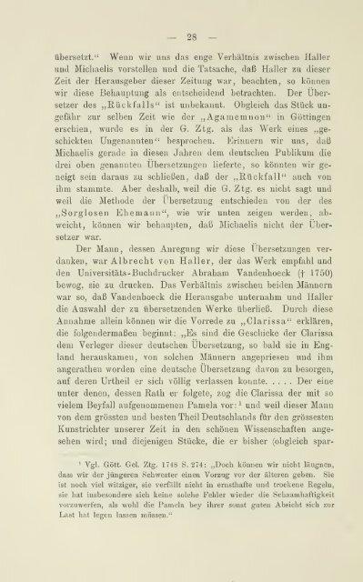 Die ersten deutschen Übersetzungen englischer Lustspiele im ...