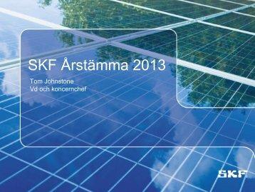 SKF InsightTM - Investor relations