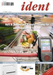 Höft & Wessel mit Komplettlösung für selbstbedienten Einkauf