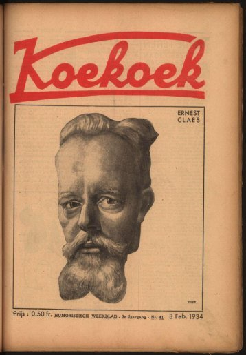 ERNEST CLAES 8 Feb. 1934