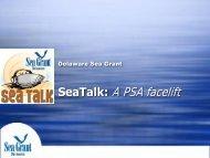 SeaTalk: A PSA facelift