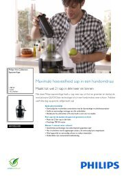 HR1855/00 Philips Sapcentrifuge - Icecat.biz